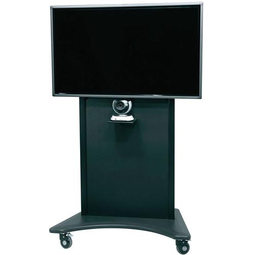 "Middle Atlantic FlexView Series FVS-800SC-BK Single Display Cart with 4"" Casters (Black)"