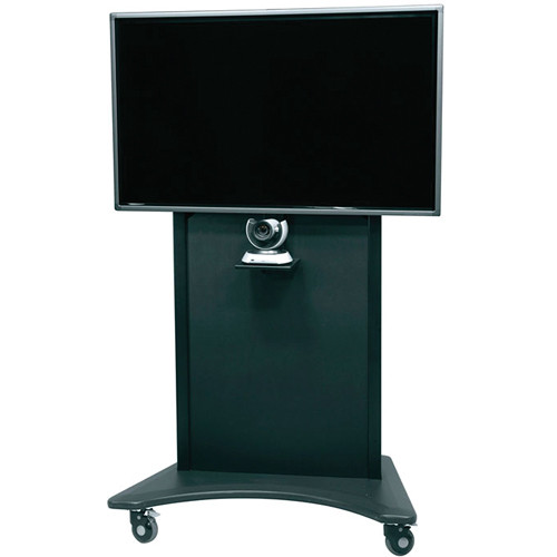 "Middle Atlantic FlexView Series FVS-800SC-BK Single Display Cart with 4"" Casters (Black)"