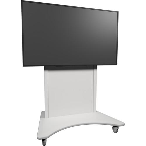Middle Atlantic FlexView IFP Fixed Display Cart (White Base, White Finish)