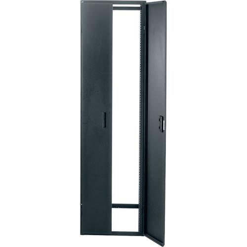 Middle Atlantic GCFRD-40 Solid Cupboard Front/Rear Door for GRK Series Racks (40 RU, Black)