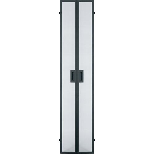 Middle Atlantic GCLVFRD-40 Vented Split Front / Rear Door for GRK Series Racks (40 RU)