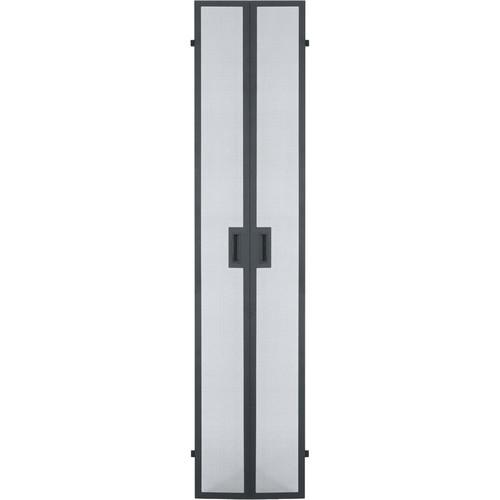 Middle Atlantic GCLVFRD-48 Vented Split Front / Rear Door for GRK Series Racks (48 RU)