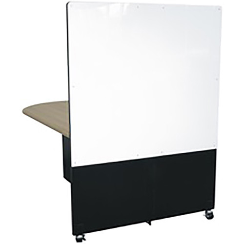 Middle Atlantic Hub Rear Cover for Whiteboard (Load Up to 10 lb, White)