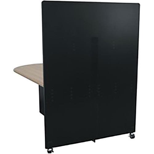 Middle Atlantic Hub Tower for Monitor Display (5', Black)