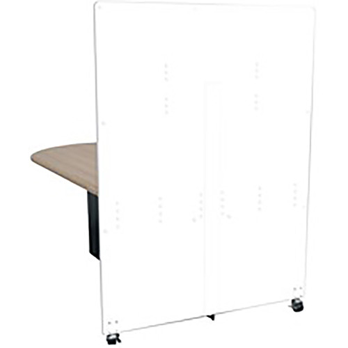 Middle Atlantic Hub Tower for Monitor Display (5', White)
