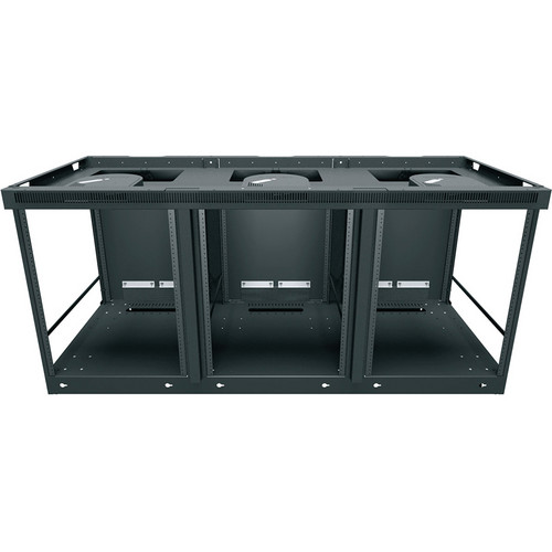 Middle Atlantic C5 Series Credenza Rack Frame with Two 220V/50Hz Fans (3 Bays)