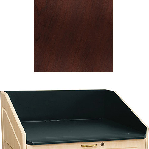 "Middle Atlantic L5 Traditional Finishing Kit, Flat Top (Dark Cherry, 33"")"