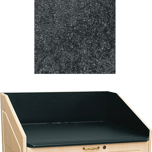 "Middle Atlantic L5 Traditional Finishing Kit, Flat Top (Darkstone, 23"")"
