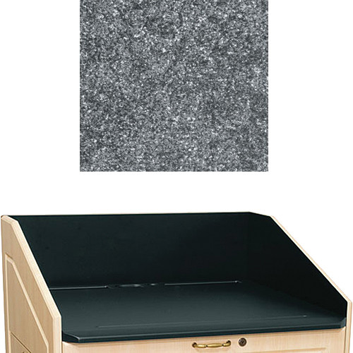 "Middle Atlantic L5 Traditional Finishing Kit, Flat Top (Graystone, 33"")"
