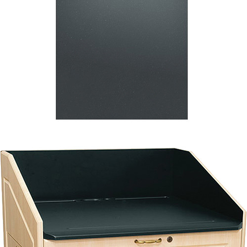 "Middle Atlantic L5 Traditional Finishing Kit, Flat Top (Slate, 33"")"