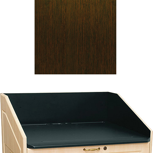 "Middle Atlantic L5 Traditional Finishing Kit, Flat Top (Wenge, 33"")"