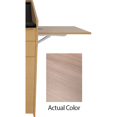 Middle Atlantic L5 Flip-Up Shelf for L5 Lecterns (High-Pressure Laminate, 5th Avenue Elm)