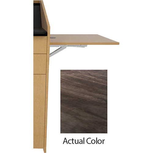 Middle Atlantic L5 Flip-Up Shelf for L5 Lecterns (High-Pressure Laminate, Adapt Muse)