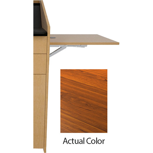 Middle Atlantic L5 Flip-Up Shelf for L5 Lecterns (High-Pressure Laminate, Glamour Cherry)