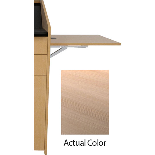 Middle Atlantic L5 Flip-Up Shelf for L5 Lecterns (High-Pressure Laminate, Highline)