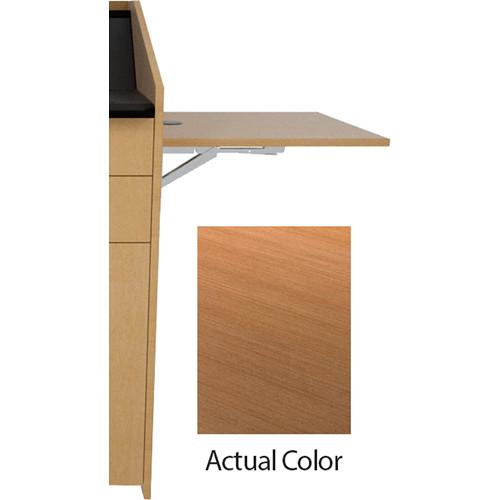 Middle Atlantic L5 Flip-Up Shelf for L5 Lecterns (High-Pressure Laminate, Pecan Woodline)