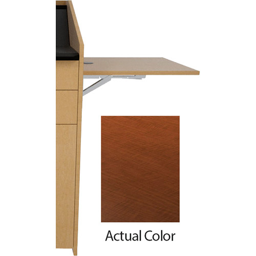Middle Atlantic L5 Flip-Up Shelf for L5 Lecterns (High-Pressure Laminate, Versailles Anigre)