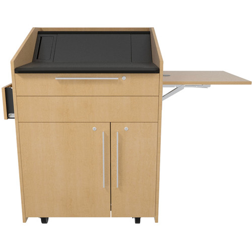 Middle Atlantic L5 Flip-Up Shelf for L5 Lecterns (High-Pressure Laminate, Wilsonart)