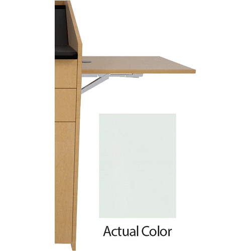 Middle Atlantic L5 Flip-Up Shelf for L5 Lecterns (Thermolaminate, Gray Ash)