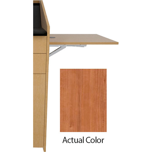 Middle Atlantic L5 Flip-Up Shelf for L5 Lecterns (Thermolaminate, Hazelnut Maple)