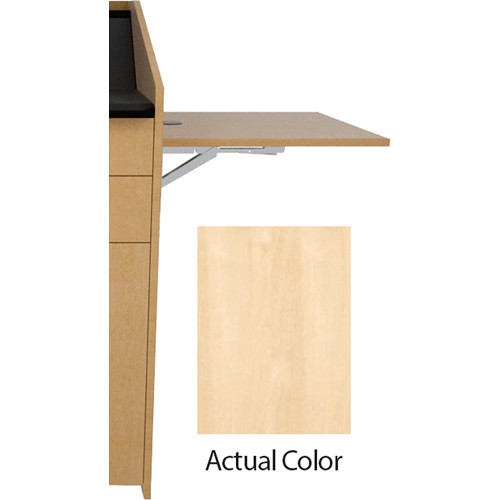 Middle Atlantic L5 Flip-Up Shelf for L5 Lecterns (Thermolaminate, Native Maple)
