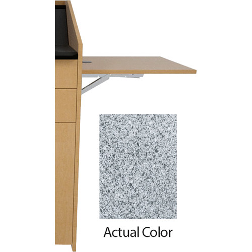 Middle Atlantic L5 Flip-Up Shelf for L5 Lecterns (Thermolaminate, Pepperstone)