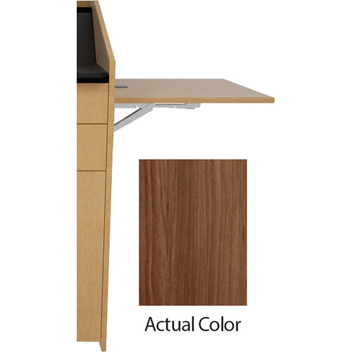 Middle Atlantic L5 Flip-Up Shelf for L5 Lecterns (Thermolaminate, Sienna)