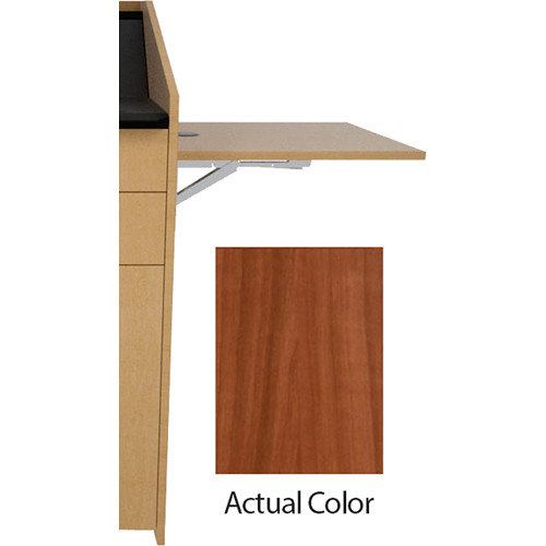Middle Atlantic L5 Flip-Up Shelf for L5 Lecterns (Thermolaminate, Sequoia)