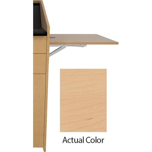 Middle Atlantic L5 Flip-Up Shelf for L5 Lecterns (Veneer, Sandy Maple)