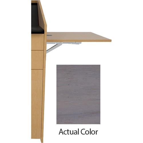 Middle Atlantic L5 Flip-Up Shelf for L5 Lecterns (Veneer, Ashen Walnut)