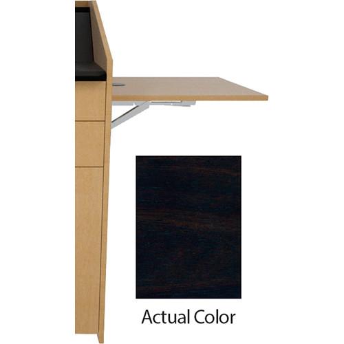 Middle Atlantic L5 Flip-Up Shelf for L5 Lecterns (Veneer, Titan Walnut)