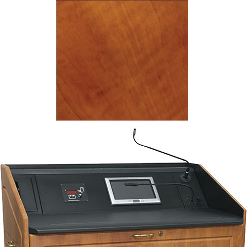 "Middle Atlantic L5 Turret Lectern Wood Finishing Kit for Presenter's Panel Frame (Traditional, Aged Cherry, 33"" width)"