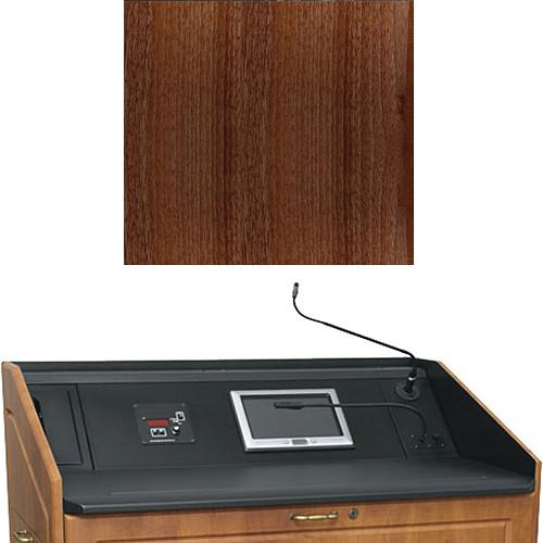 "Middle Atlantic L5 Turret Lectern Wood Finishing Kit for Presenter's Panel Frame (Traditional, Dark Pecan, 33"" width)"