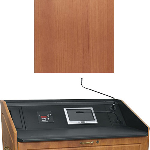 "Middle Atlantic L5 Turret Lectern Wood Finishing Kit for Presenter's Panel Frame (Traditional, Honey Maple, 23"" width)"