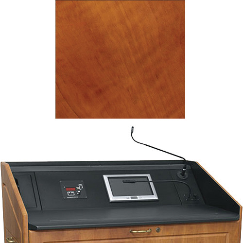 "Middle Atlantic L5 Turret Lectern Wood Finishing Kit for Presenter's Panel Frame (Contemporary, Aged Cherry, 33"" width)"