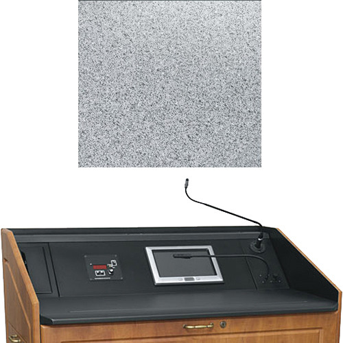 "Middle Atlantic L5 Turret Lectern Wood Finishing Kit for Presenter's Panel Frame (Contemporary, Pepperstone, 23"" width)"