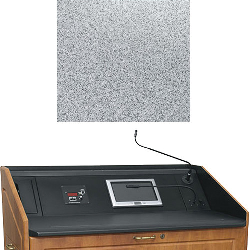 "Middle Atlantic L5 Turret Lectern Wood Finishing Kit for Presenter's Panel Frame (Contemporary, Pepperstone, 43"" width)"