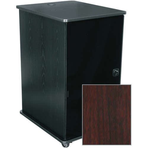 Middle Atlantic MFR-1627GC MFR Series Mobile Furniture Rack (Grained Dark Cherry)