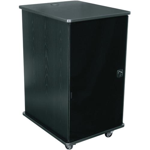 Middle Atlantic MFR-1627GE MFR Series Mobile Furniture Rack (Grained Ebony Ash)