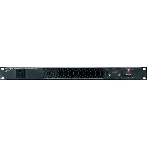 "Middle Atlantic 19"" PowerCool Rackmount Power Distribution and Cooling Unit (1RU, Flat Black)"