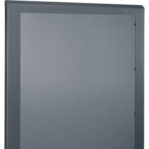 """Middle Atlantic Plexi Front Door for 28"""" Wide, 24-RU SR Series Rack (Black)"""