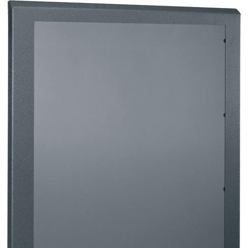 """Middle Atlantic Plexi Front Door for 28"""" Wide, 40-RU SR Series Rack (Black)"""