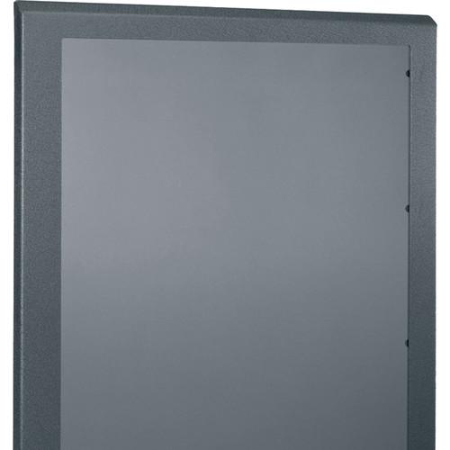 """Middle Atlantic Plexi Front Door for 28"""" Wide, 46-RU SR Series Rack (Black)"""