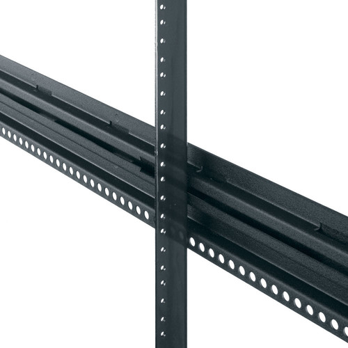 Middle Atlantic PROGRK-RR44 Cage-Nut Rackrails for GRK Series Racks (44 RU, Pair)