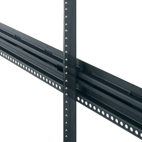 Middle Atlantic PROGRK-RR48 Cage-Nut Rackrails for GRK Series Racks (48 RU, Pair)