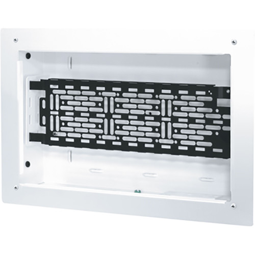 "Middle Atlantic 9 x 14"" Proximity Series In-Wall Box with One Lever Lock 4"" Mounting Plate for Storing AV System Components"
