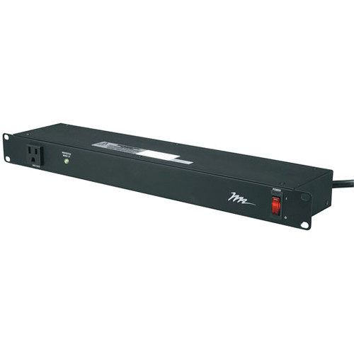 Middle Atlantic PWR-9-RP Essex Rackmount Power 9-Outlet Horizontal Power Distribution
