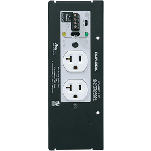 Middle Atlantic MPR 20A Controlled Raceway Module with Series Protection
