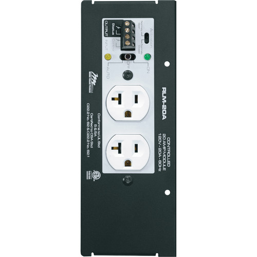 Middle Atlantic RLM-20A Switchable Power Module