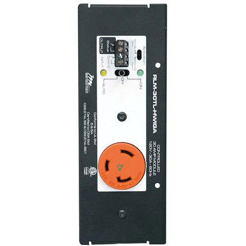 Middle Atlantic 30A Controlled Iso Ground MPR Module, Hardwired